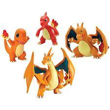 Pokemon TOMY Moncolle Figure Charmander, Charmeleon, Charizard, Mega Charizard Y
