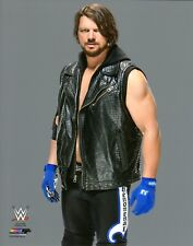"WWE PHOTO AJ STYLES WRESTLING 8x10"" PROMO POSTER"