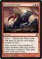 Journey Into Nyx ~ HARNESS BY FORCE rare Magic the Gathering card
