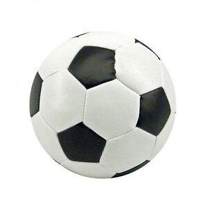 SOFT FOOTBALL Sponge Foam Ball - Black & White - For Kids Indoor Outdoor,NEW