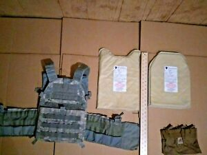 LBT 6094 large plate carrier with iiia soft armor