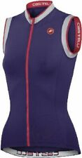 Castelli Perla Women's Sleeveless Full Zip Cycling Jersey Violet