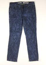 DKNY Womens Jeans Jegging Blue Tie Dye Look Stretch Skinny Leg Size 10 AU Sz 12