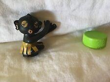 Vintage Winky Black Dakkochan Hard Plastic-rubber Doll Japan Early Takara