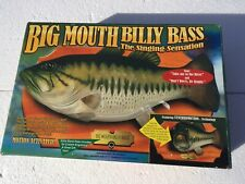 Big Mouth Billy Bass Singing Fish Sensation Motion Activated 1998