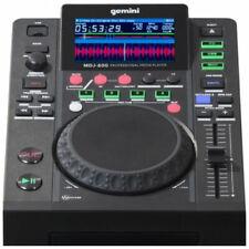 2 X Gemini Mdj-600 CD USB Mp3 Media Player DJ Controller Software 24 Bit