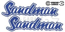 Holden HQ - HJ -  SANDMAN DARK BLUE XX Large Decal  - Stickers