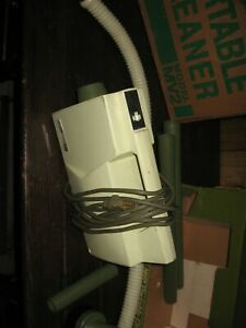 Vintage GE General Electric MV2 Canister Vacuum Cleaner with box