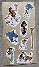Disney Aladdin Stickers, 1990's, Pace, Unused Loose Sheet