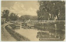The Thames  at Romney Lock Misch Mezzo Graphs 3017/3 Postcard, C072