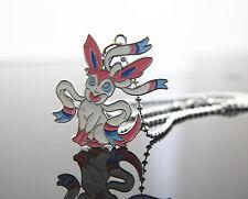 Pokemon Ceter Pokedoll Evee Ebay Sylveon Cute Pendant Charm Necklace Nintendo