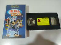 El Club de los Villanos Walt Disney Mickey - VHS Español
