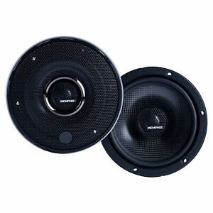 """Memphis Audio 15-MCX6 6.5"""" Coaxial Speakers With In-line Crossover - Pair"""