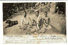 """CPA - Carte Postale-Congo """" Belge"""" Sculpteur d'Ivoire en 1915 VM5492"""