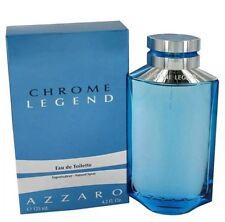 Chrome Legend By Azzaro Men 4.2 OZ 125 ML Eau De Toilette Spray Nib Sealed