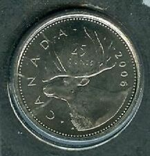 2006-P Mark Proof-Like Quarter 25 Cent '06 Canada/Canadian BU Coin Un-Circulated