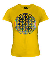 FLOWER OF LIFE 3D LADIES T-SHIRT TEE TOP GIFT SYMBOL PAGAN