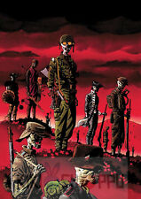 Poster A3 The Walking Dead Zombies Comic Portada / Cover Page 04