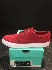Nike SB Zoom Stefan Janoski Skate Shoes Canvas Red 333824-606 Size 8