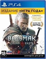 The Witcher 3: Wild Hunt GOTY Edition (PS4, 2016) Russian,Englis,Polish version