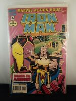IRON MAN! #6 In this issue... ORIGIN OF THE MANDRRIN! Marvel Action Hour, Nice