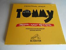 THE WHO'S TOMMY ORIGINAL CAST RECORDING CD SINGLE Promo Only 3 Tracks NEW