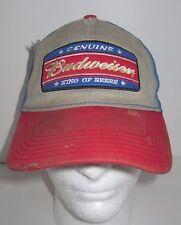 Genuine Budweiser - King of Beers Snapback Hat - DIRTY Distressed & Discolored!