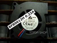DELTA BFB0612H Projector fan Turbo blower DC12V 0.22A 60*60*25mm 3pin