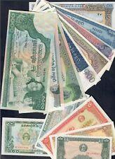 cambogia 13 banconote  UNC fds  LOTTO 422