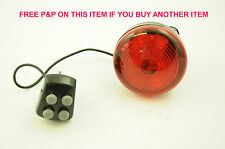 BIKE POLICE SIREN WITH RED LIGHT FOR KIDDIES OR TRENDY FUN LOVING ADULT CYCLIST
