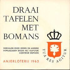 """GODFRIED BOMANS - Draaitafelen met Bomans (1963 SINGLE 7"""" PROMO ANJERLOTERIJ)"""
