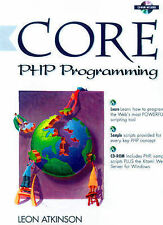 Core PHP Programming (Core Series), Atkinson, Leon, Used; Good Book