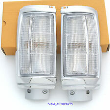 2 x CLEAR CORNER LIGHTS MITSUBISHI 87-96 MIGHTY MAX PICKUP LH RH