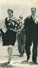 EVA PERON  EVITA Rare WEDDING MAGAZINE ARGENTINA 1967
