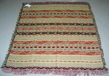 Sahara ~ North Africa Inspired Tapestry Afghan Throw