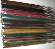 "100 Premium Jumbo 19"" Colored Incense Sticks ~ Made In The Usa ~ U Pick Scents!"