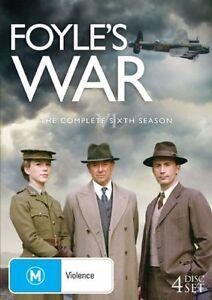 Foyle's War : Season 6 (DVD, 2008, 5-Disc Set) R4
