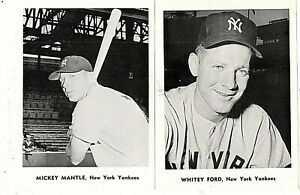 1961 New York Yankees Team Issue Picture Pack Set Mickey Mantle ++