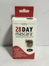 Godefroy 28 Day Mascara | Permanent Eyelash & Eyebrow Tint Kit | Black | 4 Weeks