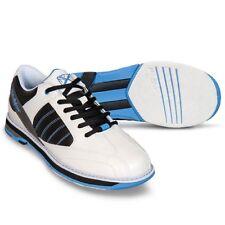 New Women's KR Strikeforce Mist White/Black/Blue Bowling Shoes Size 8