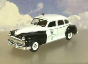 ATLAS WORLD POLICE CARS 1/43 CHRYSLER DE SOTO ONTARIO HIGHWAY PATROL CANADA