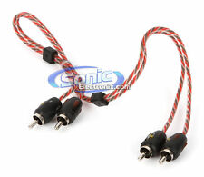 Stinger SI421.5 1.5 ft. of 2-Channel 4000 Series RCA Audio Interconnect Cable