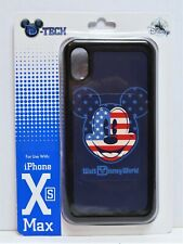 Disney WDW 4th July Patriotic Flag Mickey Apple Iphone 10 XS Max Cellphone Case