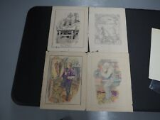 Frank R Paul Original Art Lot of 4 Pieces from 1911 to 1918