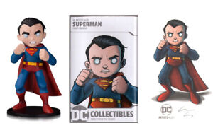 SIGNED Superman DC Collectibles Artist Alley Chris Uminga Vinyl Figure Art Print
