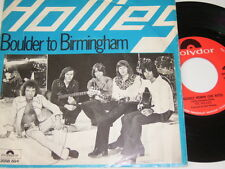 "7"" - Hollies Boulder to Birmingham & Crocodile Woman - Dutch diff. 1976 # 4554"