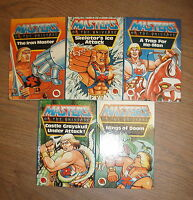 5 MASTERS OF THE UNIVERSE BOOKS by LADYBIRD * £3.25 UK POSTAGE * H/B *
