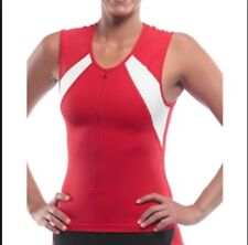 Sls3 Unisex Frt 2.0 Race Top Red, zipper Mde in Usa. Size small