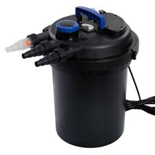 New listing 4000Gal Pond Pressure Bio Filter with Light