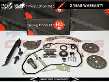 VAYXHALL ASTRA VECTRA B C ZAFIRA 2.2 PETROL TIMING CHAIN GASKET KIT SET Z22SE